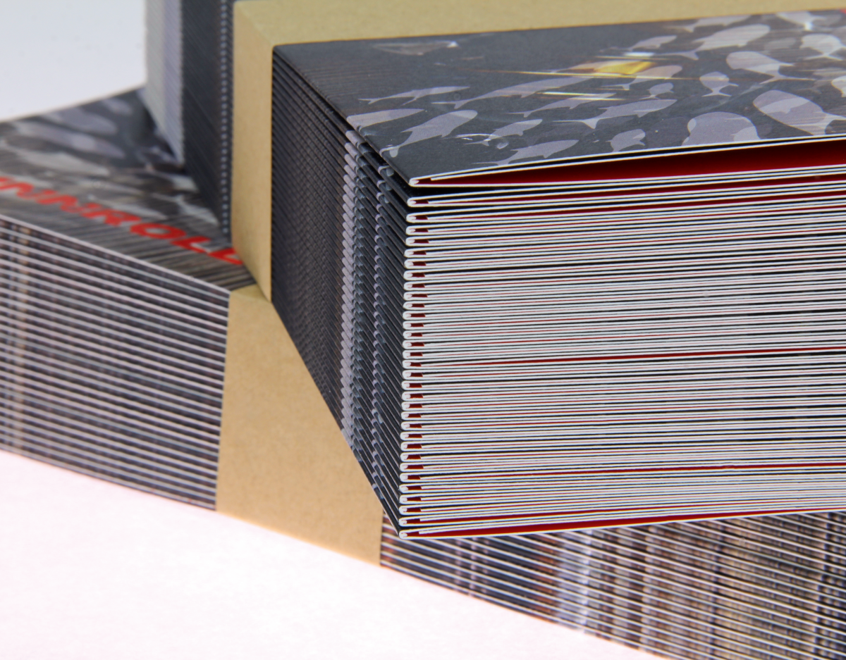 Gerillte Folder