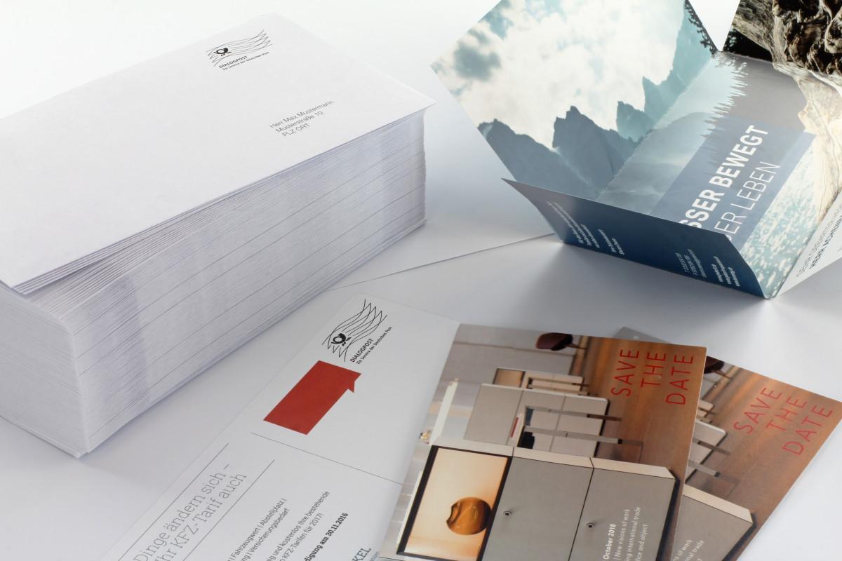 Personalisierte Briefumschläge